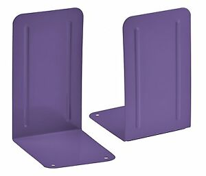 Acrimet Premium Bookends (Purple)
