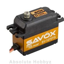 Savox High Voltage Monster Torque Titanium Gear Digital Servo - SAV-SV-1270TG