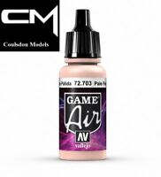 Vallejo Game Air 72.703 Pale Flesh  - 17ml Acrylic Airbrush Paint