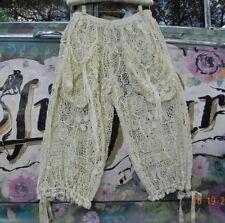 Magnolia Pearl❤Antique Point de Venise LACE❤SPECIALTY Fashion Show OOAK  Art USA