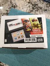 Nintendo 3DS XL Handheld System Super Smash Bros and Zelda Ocarina Bundle New