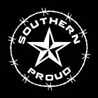 Southern Proud window Decal southern south life barn star confederate sticker