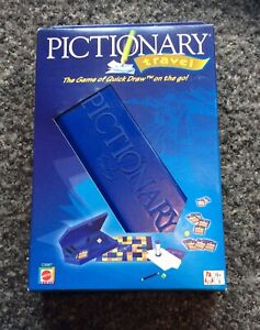2003 Parker PictionaryTravel edition Game new the game of quick draw