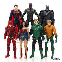 Justice League Superman Wonder Woman The Flash Batman Collectible Model Toy