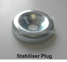Stabiliser Plug/Washer for Fixed Head Galvanised Rotary Hoist Clotheslines