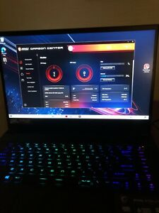 MSI GS66 rtx 3060 i7 11800 240hz refresh rate 8 cores 16 threads 16gb ram