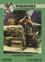 Warriors 1:35 WWII German Waffen SS Tanker - Resin Figure Kit #35105