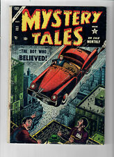 """MYSTERY TALES #22 - Grade 4.0 - Golden Age """"The Boy Who Believed"""""""