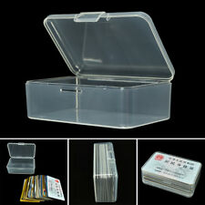 Clear Small Plastic Transparent With Lid Collection Container Case Storage Box