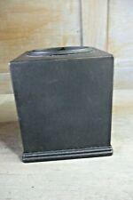 Square Bronze Metal Paper Facial Tissue Box Cover Holder