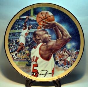 "Michael Jordan 1995 Bradford Exchange LE 8"" Collectors Plate #2 - The Comeback"