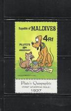 MALDIVAS. Año: 1982. Tema: WALT DISNEY.
