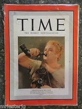 Time Magazine  January 22, 1940  Heldentenor Melchior  GREAT VINTAGE ADS