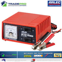 Genuine Arlec® Battery Charger PRO 6 & 12V 2.5 Amp Auto Car Bike &Trickle Charge