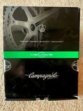 Campagnolo Veloce Power Torque 10-Speed 172.5mm Rare Triple 50/39/30 Black NIB