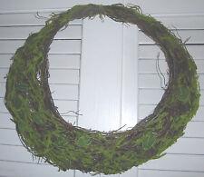 "Raz Imports Moss Basket Wreath 14.5"" x 15.5"" Door Decoration For All Seasons"