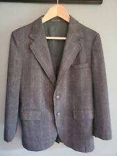 Vintage Gant Boys Marshall Fields Wool Herringbone Tweed Jacket Blazer Sz 16 USA