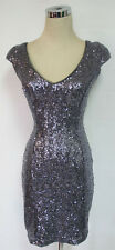 WINDSOR Gray Homecoming Dance Party Dress 9 - $90 NWT