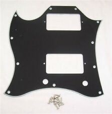 LEFT HANDED FULL FACE SCRATCHPLATE FOR GIBSON SG ETC/BK