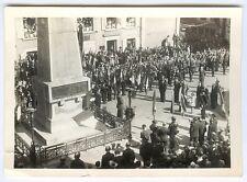 Photo militaire - Libération photo du général de Gaulle faisant un discours libé