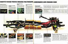 1973/1974 Chevy RECREATIONAL VEHICLES RV Brochure : PickUp Truck,CAMPER,VAN,C10