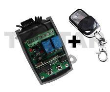 433mhz Rolling Code hcs301 12v 24v garage attacco Ricevitore Wireless + trasmettitore a mano