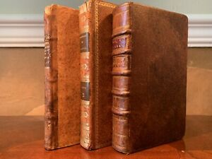 LOT OF OLD ANTIQUE BOOKS 1700s-1800s Literature, History, Religion