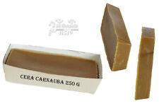 Cera carnauba 100% naturale lucidante protettivo per pelle cuoio legno