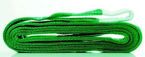 NEW FLAT LIFTING SLINGS 2T RATED 0.5M TO 10M LONG - AUS STANDARDS COMPLIANT