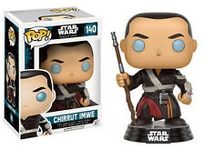 Star Wars Rogue One Chirrut Imwe POP Star Wars #140 Vinyl Figure FUNKO