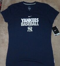 5a57dbc6a NEW NIKE MLB NY New York Yankees T Shirt Women Ladies L Large Dri Fit NEW