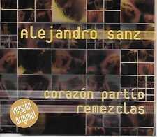 Alejandro Sanz – Corazón Partío (Remezclas) CD Single 1998