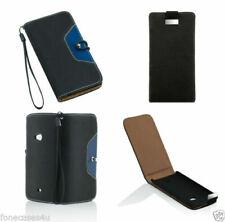 Fundas y carcasas negras de plástico para teléfonos móviles y PDAs LG