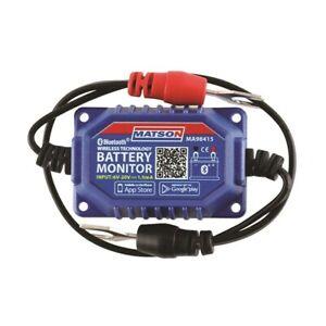 MATSON MA98415 BLUETOOTH BATTERY MONITOR REAL TIME 24V 36V & 48V SYSTEMS