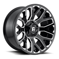 (4) 20x9 Fuel Gloss Black & Milled Warrior Wheel 8x170 For 03-09 Ford F250 F350