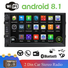 """Double 2DIN 7"""" Android 8.1 GPS 4Core Car Stereo Radio GPS Navigation 1024*600"""