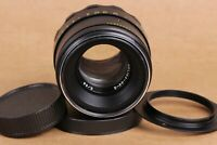 Helios-44-2 58mm f./ 2 Helios 44-2 2/58mm M42 Lens mount + Adapter for Nikon Ai