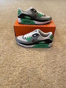 Nike Golf Air Max 90 G Waterproof Golf Shoes CU9978-003 Sz 8.5 Green No Lid