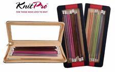 KnitPro Zing Straight Knitting Needle Sets: 25cm, 30cm, 35cm, 40cm - Gift