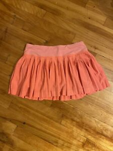 Lululemon Tennis Skirt  With Built In Shorts  size 4