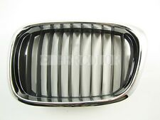 Front Left Chrome Hood Grille Facelift Grill for BMW 5-series E39 95-03