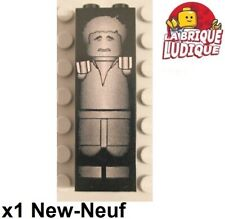 Lego 1x Brick decorated brique 1x2x5 Star Wars Han Solo in Carbonite 2454ps5 NEW