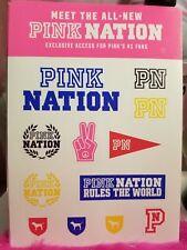 Victoria's Secret Pink Nation Campus Stickers