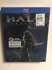 Halo Legends (Blu-ray, 2010) Best Buy Steelbook NEW w/mini book