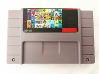 Super 143 in 1 Game 16 Bit for Nintendo SNES Multi Cart Game Cartridge NTSC-U/C