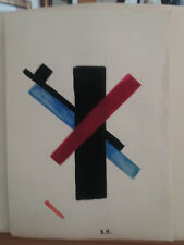 MALEVICH  OIL ON PAPER