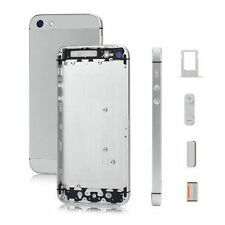 Silver Mobile Phone Battery Covers for iPhone 5