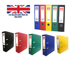 A4 LEVER ARCH FILE FOLDER RING BINDER HIGH QUALITY FILE OFFICE STORAGE