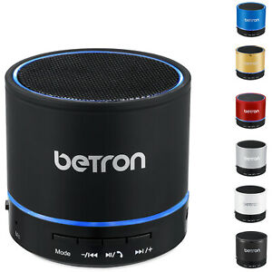 Betron Portable Speaker Wireless For Bluetooth Devices Extra Bass TF Card KBS08