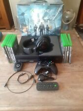 xbox one the devision edition 1tb with games , accessories, excellent condition